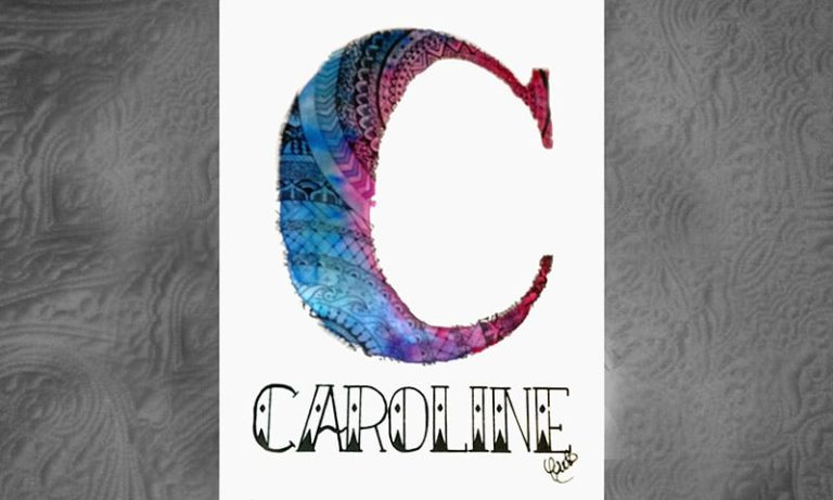 CAROLINE by YOUST artwork close-up 2 size 800 x 480 COM